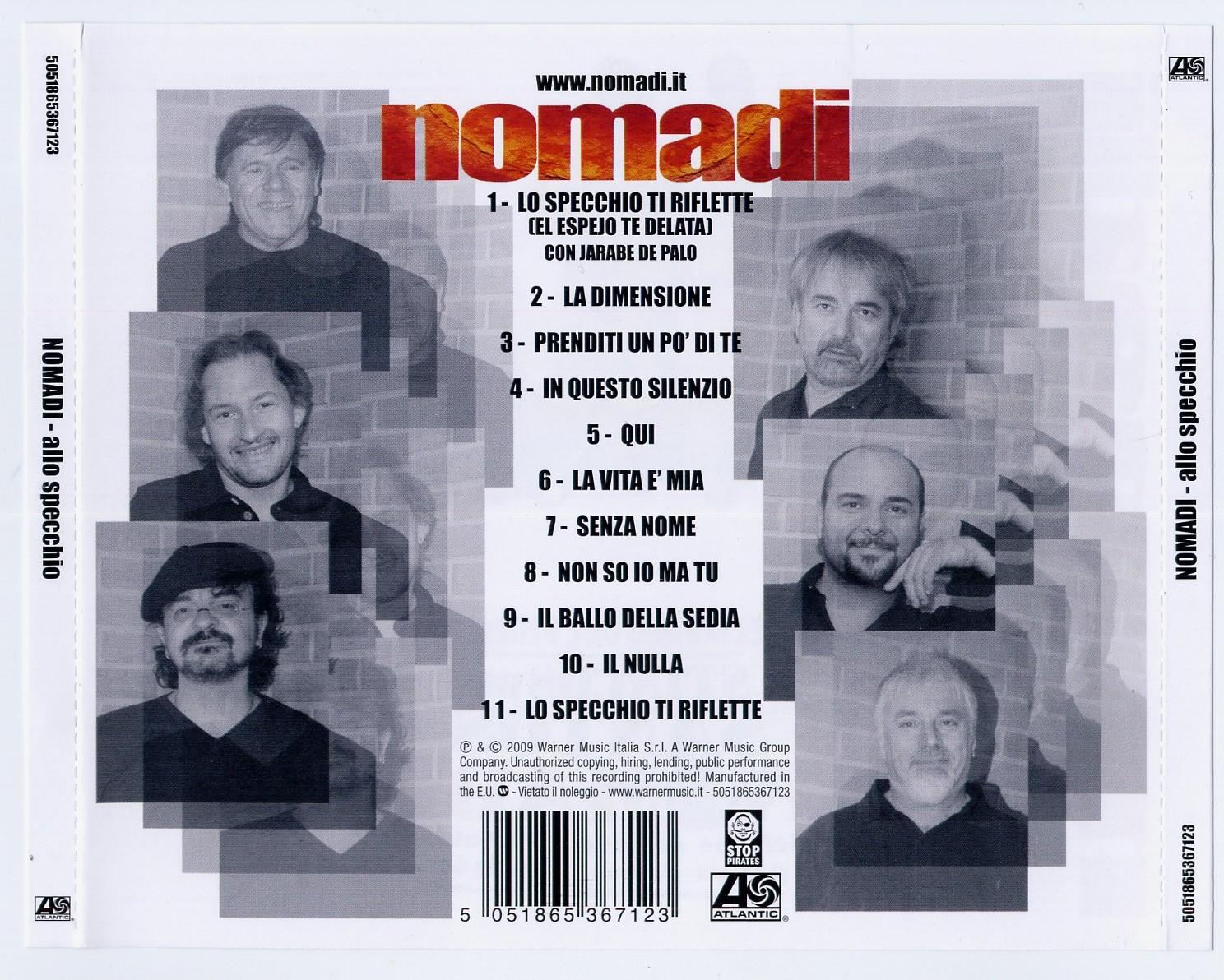 Musica su nomadi in studio - Lo specchio della vita torrent ...